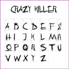 14 Cool Images of Creepy Font Style. Scary Letter Fonts Alphabet Gothic Style Lettering Fonts New Gothic Style Font Halloween Alphabet Fonts Scary Fonts Calligraphy Fonts, Typography Fonts, Caligraphy, Cool Fonts To Draw, Scary Font, Creepy Hand, Horror Font, Creepy Drawings, Hand Lettering Alphabet