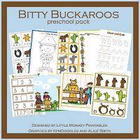 Learning units!  Bitty Buckaroos!  LOVE it!!  :)