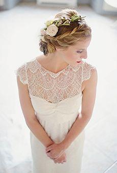 Romantic Braided Updo    Wedding Hairstyle