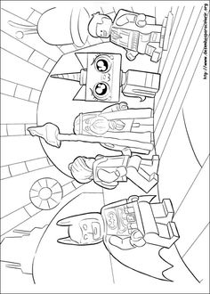 In This Lego Movie Coloring Page You Will Find Lord Vitruvius Unikitty Emmet Batman And Wyldstyle Come Check Out Have Fun Them