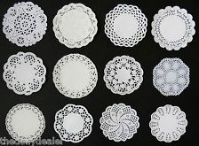 """LITTLE GEMS VARIETY PACK ASSORTED SIZE 4""""  3.5""""  3""""  PAPER LACE DOILIES X 24"""