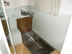 The bathroom complete with sunken bath. Sunken Bath, Toilet, Bathroom, Style, Washroom, Swag, Flush Toilet, Full Bath, Toilets