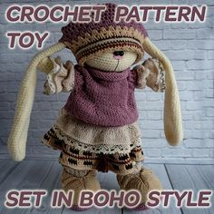 Hey, I found this really awesome Etsy listing at https://www.etsy.com/au/listing/538607487/only-clothes-pattern-set-in-boho-style