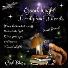 36 Best Good Night Family And Friends Images Good Evening Wishes
