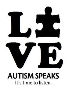 LOVE Autism Awareness Vinyl Decal Autism Speaks Stickers Support Puzzle Piece #SouthwestDecals