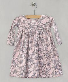 Look what I found on #zulily! Rose Sweet Tweet Floral Babydoll Dress - Infant #zulilyfinds