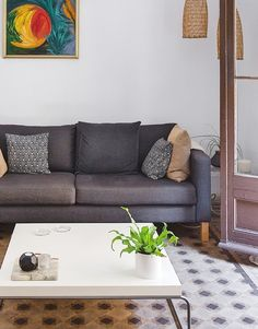 Shop the look of this vintage Barcelona flat.