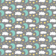 Precious Boy - Night Sky fabric by misstiina on Spoonflower - custom fabric