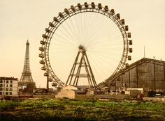 La Grande Roue de Paris, 1900, by  @20x200 Artist Fund