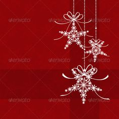 Red Christmas Snowflake Star Shape Greeting Card — JPG Image #banner #ornament • Available here → https://graphicriver.net/item/red-christmas-snowflake-star-shape-greeting-card/3180647?ref=pxcr