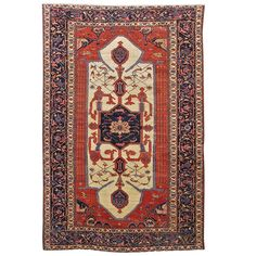 Bakhshaish Persian Carpet | From a unique collection of antique and modern persian rugs at http://www.1stdibs.com/rugs-carpets/persian-rugs/