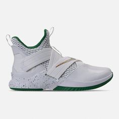 Right view of Men's Nike LeBron Soldier 12 Basketball Shoes Xavier Basketball, Basketball Rim, Houston Basketball, Basketball Drills, Basketball Sneakers, Basketball Players, Proper Running Technique, Vertical Jump Training
