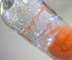 Luminária de garrafa ABSOLUT VODKA !!