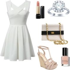 Fancy by vidhip348 on Polyvore featuring polyvore fashion style Jessica Simpson Chanel Lancôme Bobbi Brown Cosmetics