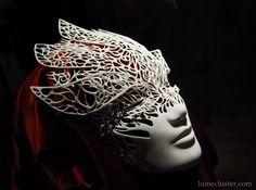 Dreamer Mask: Emergence (3D Printed) by Lumecluster.deviantart.com on @deviantART
