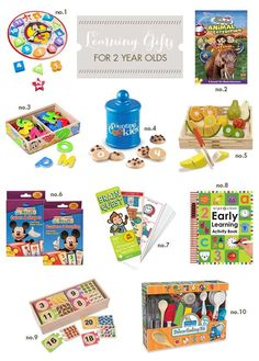 Best Toddler Toys - Best Learning Gifts for Two-Year Olds Best Toddler Toys, Toddler Fun, Toddler Gifts, Baby Gifts, Early Learning Activities, Learning Toys, Toddler Activities, Motor Activities, Baby Play