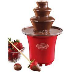 Nostalgia Electrics Mini Chocolate Fountain