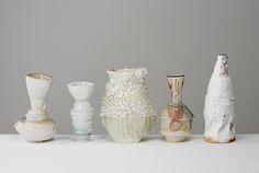 "Johannes Nagel, ""Gefäße"", Diplom, Plastik, Studienrichtung Keramik, 2009"
