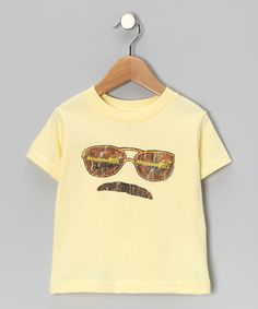 Take a look at this Light Yellow Banana Magnum PI Tee - Toddler & Kids by American Classics on #zulily today! $11.99