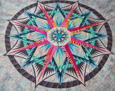 mariner compass quilt Judy Neimeyer | Mariner's Compass, Quiltworx.com, Made by Joyce ... | Quilt Addiction
