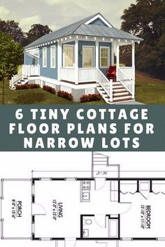 6 tiny cottage floor plans designed for narrow lots &;m torn between No. 1 and No. 6 tiny cottage floor plans designed for narrow lots &;m torn between No. 1 and No. what do […] Homes Cottage floor plans Tiny Cottage Floor Plans, Tiny House Cabin, Cottage House Plans, Tiny House Design, Small House Plans, Cottage Homes, House Floor Plans, Small Home Floor Plan, Tiny Cabin Plans