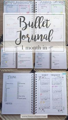 1 month of using a bullet journal