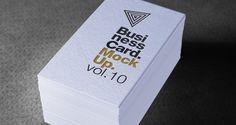 Psd Business Card Mock-Up Vol10