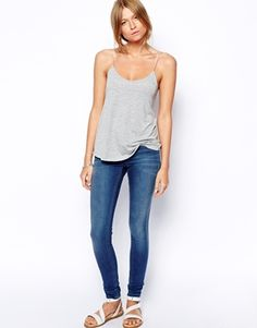 Enlarge ASOS Cami Top with Barely There Straps