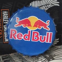 Red Bull BEER Bottle Cap vintage Tin Sign Bar pub home Wall Decor Metal Poster in Home & Garden, Home Décor, Plaques & Signs   eBay