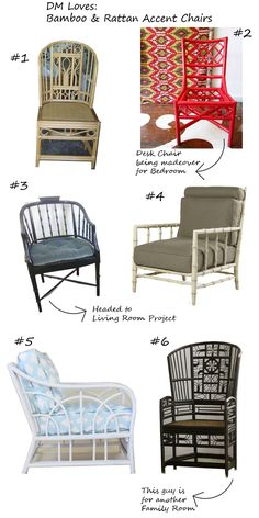 faux bamboo chairs | Search Results | Design Manifest