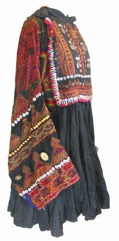 Afghan Nuristan dress