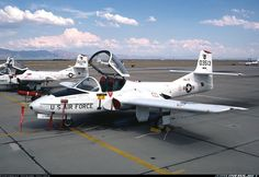 Cessna T-37C Tweety Bird (318C) aircraft (usa 1957-2009)