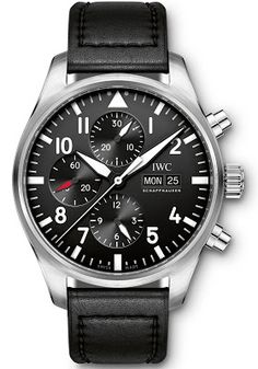Discover a large selection of IWC Pilot Chronograph watches on - the worldwide marketplace for luxury watches. Compare all IWC Pilot Chronograph watches ✓ Buy safely & securely ✓ Dream Watches, Luxury Watches, Cool Watches, Watches For Men, Casual Watches, Iwc Pilot Chronograph, Herren Chronograph, Watch Companies, Watch Brands