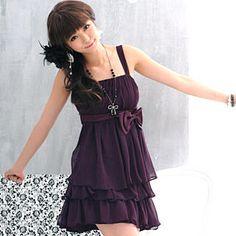 59 Seconds - Sleeveless Layered Chiffon Party Dress