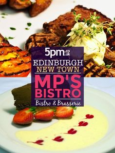 Part of the Parliament House Hotel, MP's Bistro is tucked away on Calton Hill, just a couple of minutes from Princes Street and Waverley train station. Refurbished in the spring of 2013, MP's Bistro uses fresh, local ingredients to create menus with a distinct Scottish flavour. As well as offering an a la carte choice, the pre-theatre menu is very popular, thanks in part to the proximity of MP's Bistro to Edinburgh Playhouse. Edinburgh Hotels, Restaurant Offers, Houses Of Parliament, Train Station, Play Houses, Theatre, Menu, Couple, Popular
