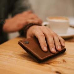 Buy Lucleon - Oxford Stitched Tan Leather Wallet for only Shop at Trendhim and get returns. Tan Leather, Leather Wallet, Bulk Up, Welcome To The Family, Oxford, Stitch, Full Stop, Oxfords, Stitching