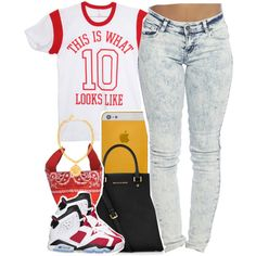 // This is What A 1O Look Like, created by clickk-mee on Polyvore