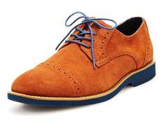 Joseph Abboud suede Theo Captoe men's shoe