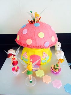 Toadstool Cake Recipe For Your Childs Fairy Whimsy Birthday Party