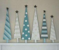 Weihnachtsdekoration, Weihnachten, Holz Weihnachtsbaum, Weihnachten Blau,  Weihnachtsbasteln, Urlaub Dekorieren, Diy Holz, Palettenholz, Holzbaum