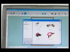▶ SINGER® FUTURA™ Selecting & Embroidering Designs Tutorial - YouTube