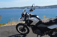 in the waiting, ready to start again any time now, ride the Dalmatian Coast www.motorcycle-tours.travel