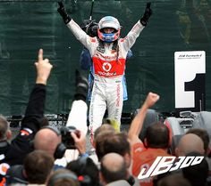 300th Grand Prix for Jenson Button! It seems like he just started with Williams yesterday!