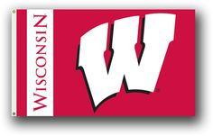 NCAA Wisconsin Badgers 3 Ft. X 5 Ft. Flag W/Grommets