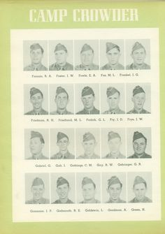 Fornuto to Green,  6th Regt., 26th Bn, Co D