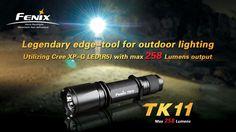 Fenix's Mountable Flashlight TK11