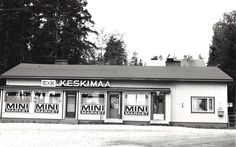 Keskimaan  Mini Market Kypärämäessä vuonna 1970