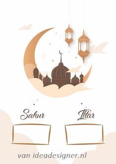 Islamic Decor, Islamic Art, Decoraciones Ramadan, Mubarak Ramadan, Happy Birthday Wallpaper, Ramadan Crafts, Islamic Cartoon, Islamic Posters, Idee Diy