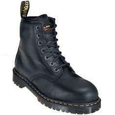 Doc Martens Men's R12231002 Steel Toe 6 Inch Work Boots