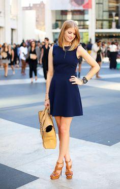 Pics of blue dresses zara Fashion Mode, Look Fashion, Fashion Outfits, Womens Fashion, Lifestyle Fashion, Fashion News, Little Dresses, Blue Dresses, Looks Style